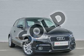 Audi A1 1.4 TFSI Sport 3dr S Tronic in Brilliant Black at Coventry Audi