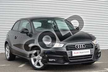 Audi A1 1.0 TFSI Sport 3dr in Brilliant Black at Coventry Audi