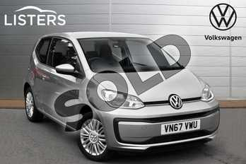 Volkswagen Up 1.0 Move Up 3dr in Tungsten Silver at Listers Volkswagen Evesham