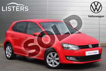 Volkswagen Polo 1.2 60 Match Edition 5dr in Flash Red at Listers Volkswagen Nuneaton