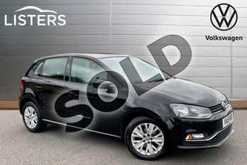 Volkswagen Polo 1.0 75 SE 5dr in Deep Black at Listers Volkswagen Stratford-upon-Avon