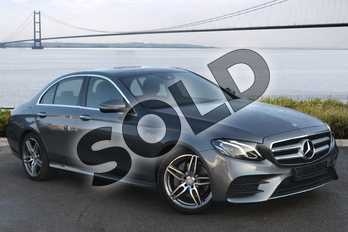 Mercedes-Benz E Class E220d AMG Line Premium 4dr 9G-Tronic in Selenite Grey metallic at Mercedes-Benz of Hull