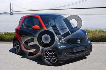 Smart Fortwo Coupe 0.9 Turbo Prime Premium 2dr Auto in black at smart at Mercedes-Benz of Hull