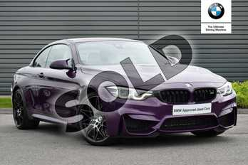 BMW M4 M4 2dr DCT (Competition Pack) in Twilight Purple Pearl at Listers Boston (BMW)