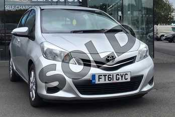 Toyota Yaris 1.4 D-4D TR 5dr in Silver at Listers Toyota Lincoln