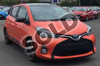 Toyota Yaris 1.5 Hybrid Orange Edition 5dr CVT in Orange Twist at Listers Toyota Lincoln
