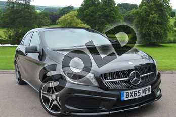 Mercedes-Benz A Class A200 CDI AMG Night Edition 5dr Auto in Cosmos Black at Mercedes-Benz of Grimsby