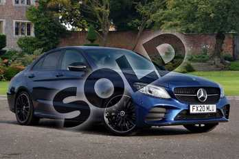 Mercedes-Benz C Class C300de AMG Line Edition Premium 4dr 9G-Tronic in brilliant blue metallic at Mercedes-Benz of Lincoln