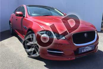 Jaguar XJ 3.0d V6 Portfolio 4dr Auto (8) in Special paint - Italian racing red at Listers U Solihull