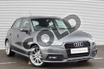 Audi A1 1.4 TFSI S Line 5dr in Daytona Grey Pearlescent at Coventry Audi