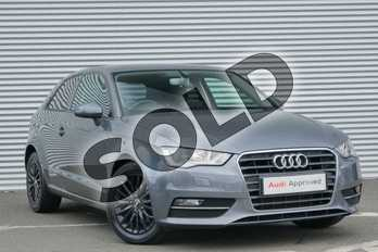 Audi A3 1.6 TDI 110 SE Technik 3dr in Monsoon Grey Metallic at Coventry Audi