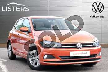 Volkswagen Polo 1.0 EVO 80 SE 5dr in Energetic Orange at Listers Volkswagen Loughborough