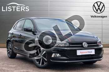 Volkswagen Polo 1.0 EVO 80 Beats 5dr in Deep Black at Listers Volkswagen Loughborough