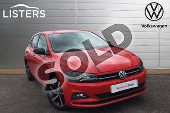 Volkswagen Polo 1.0 EVO 80 Beats 5dr in Flash Red at Listers Volkswagen Loughborough