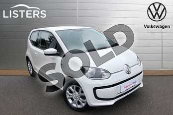 Volkswagen Up 1.0 Move Up 3dr in Candy White at Listers Volkswagen Worcester