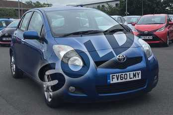 Toyota Yaris 1.33 VVT-i TR 5dr (6) in Blue at Listers Toyota Lincoln