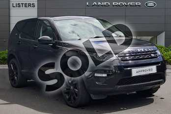 Land Rover Discovery Sport 2.0 TD4 180 HSE Black 5dr Auto in Santorini Black at Listers Land Rover Droitwich