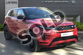 Range Rover Evoque 2.0 D180 R-Dynamic SE 5dr Auto in Firenze Red at Listers Land Rover Droitwich