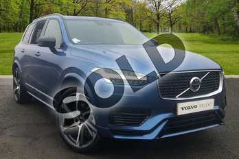 Volvo XC90 2.0 T8 (390) Hybrid R DESIGN Pro 5dr AWD Gtron in Bursting Blue at Listers Volvo Worcester