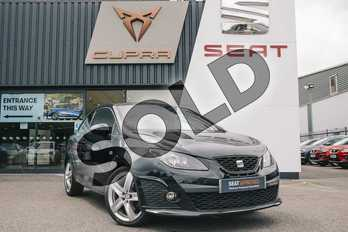 SEAT Ibiza 1.4 TSI Cupra 3dr DSG in Black at Listers SEAT Coventry