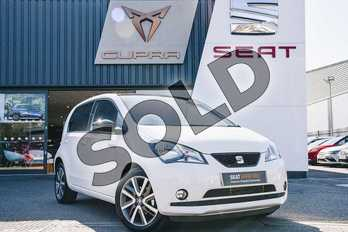 SEAT Mii 61kW One 36.8kWh 5dr Auto in White at Listers SEAT Coventry