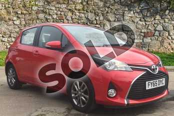 Toyota Yaris 1.0 VVT-i Icon 5dr in Chilli Red at Listers Toyota Boston