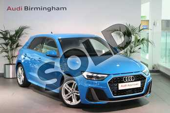 Audi A1 30 TFSI S Line 5dr in Turbo Blue at Birmingham Audi