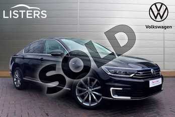 Volkswagen Passat 1.4 TSI GTE Advance 4dr DSG in Deep black at Listers Volkswagen Coventry