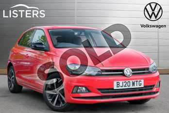 Volkswagen Polo 1.0 EVO 80 Beats 5dr in Flash Red at Listers Volkswagen Leamington Spa