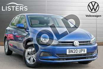 Volkswagen Polo 1.0 EVO 80 SE 5dr in Reef blue at Listers Volkswagen Leamington Spa