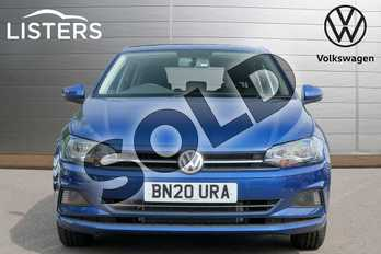 Volkswagen Polo 1.0 TSI 95 SE 5dr in Reef Blue at Listers Volkswagen Leamington Spa