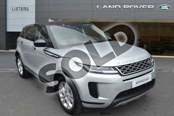 Range Rover Evoque 2.0 D180 S 5dr Auto in Indus Silver at Listers Land Rover Hereford