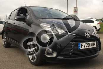 Toyota Yaris 1.5 VVT-i Y20 5dr (Bi-tone) in Eclipse Black at Listers Toyota Lincoln