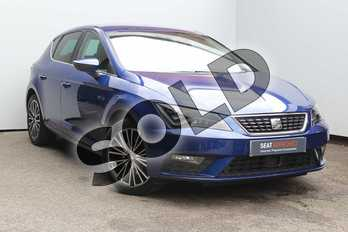 SEAT Leon 1.4 TSI 125 Xcellence Technology 5dr in Blue at Listers SEAT Worcester