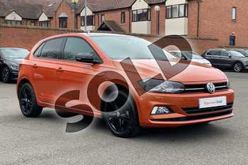 Volkswagen Polo 1.0 TSI 95 Match 5dr in Energetic Orange Metallic Black at Listers Volkswagen Stratford-upon-Avon