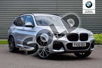 BMW X3 xDrive20d M Sport 5dr Step Auto in Glacier Silver at Listers Boston (BMW)