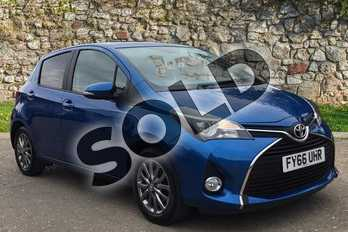Toyota Yaris 1.0 VVT-i Icon 5dr in Island Blue at Listers Toyota Boston