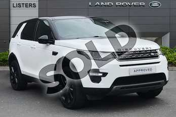Land Rover Discovery Sport 2.0 TD4 180 HSE Black 5dr Auto in Fuji White at Listers Land Rover Droitwich