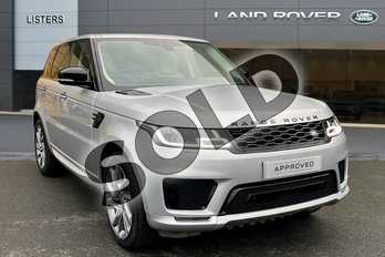 Range Rover Sport 3.0 SDV6 Autobiography Dynamic 5dr Auto (7 Seat) in Indus Silver at Listers Land Rover Droitwich