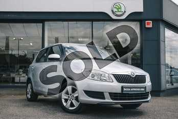 Skoda Fabia 1.2 12V SE 5dr in Brilliant Silver at Listers ŠKODA Coventry