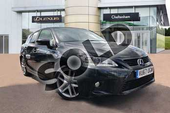 Lexus CT 200h 1.8 Sport 5dr CVT Auto in Black at Lexus Cheltenham