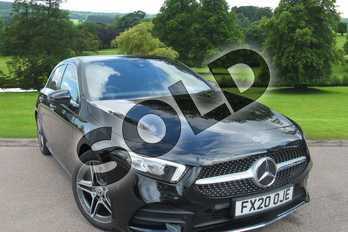 Mercedes-Benz A Class A180 AMG Line Executive 5dr Auto in Cosmos Black Metallic at Mercedes-Benz of Grimsby