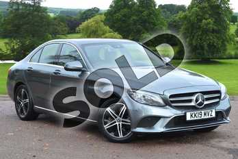Mercedes-Benz C Class C220d Sport Premium Plus 4dr 9G-Tronic in selenite grey metallic at Mercedes-Benz of Hull