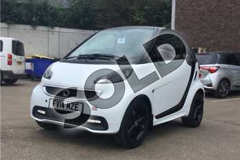 Smart Fortwo Coupe Grandstyle 2dr Softouch Auto 84 in Bodypanels in crystal white at Listers Toyota Boston