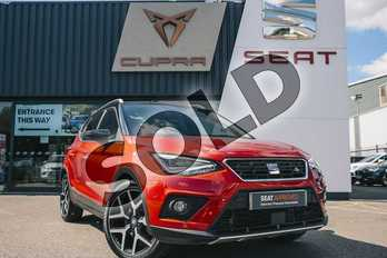 SEAT Arona 1.0 TSI SE Technology (EZ) 5dr in Desire Red at Listers SEAT Coventry