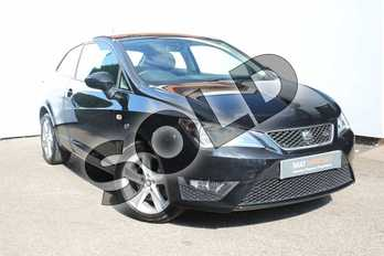 SEAT Ibiza 1.2 TSI 110 FR 3dr in Black at Listers SEAT Worcester