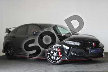 Honda Civic 2.0 VTEC Turbo Type R GT 5dr in Crystal Black at Listers Honda Stratford-upon-Avon