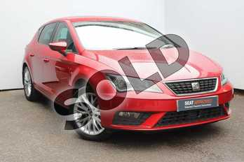 SEAT Leon 1.2 TSI SE Dynamic Technology 5dr in Red at Listers SEAT Worcester