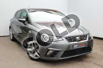 SEAT Ibiza 1.0 TSI 95 FR 5dr in Grey at Listers SEAT Worcester