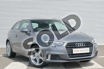 Audi A3 1.6 TDI Sport 3dr in Monsoon Grey Metallic at Coventry Audi